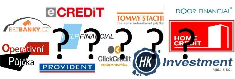 Srovnání půjček v hotovosti dostupných okamžitě - recenze.