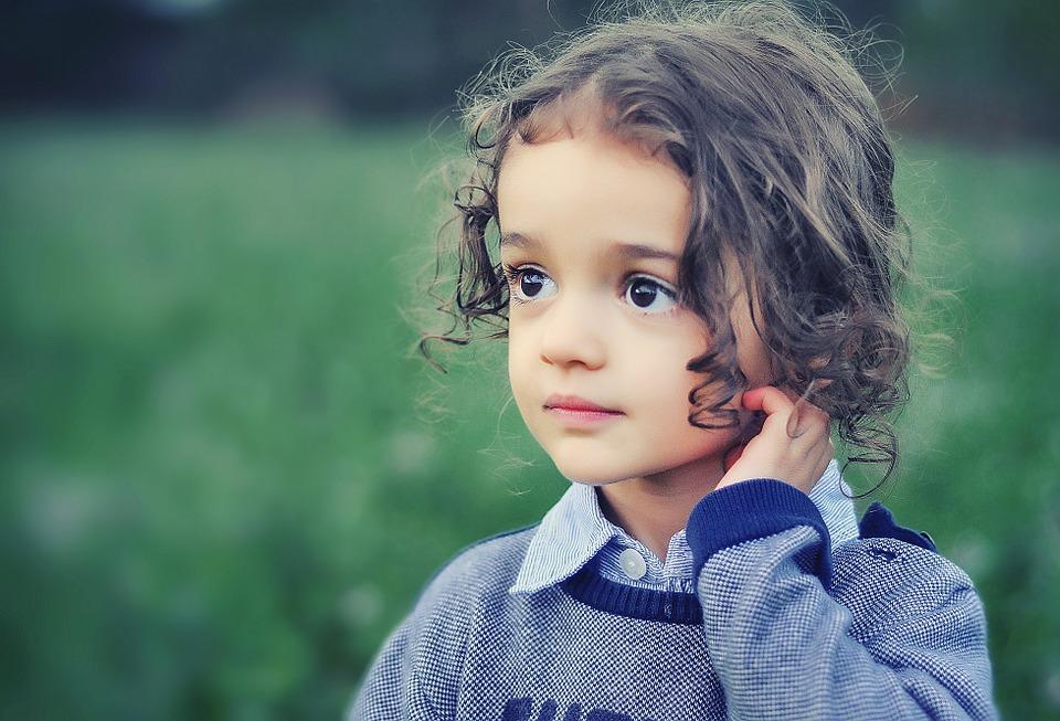 dítě fotka
